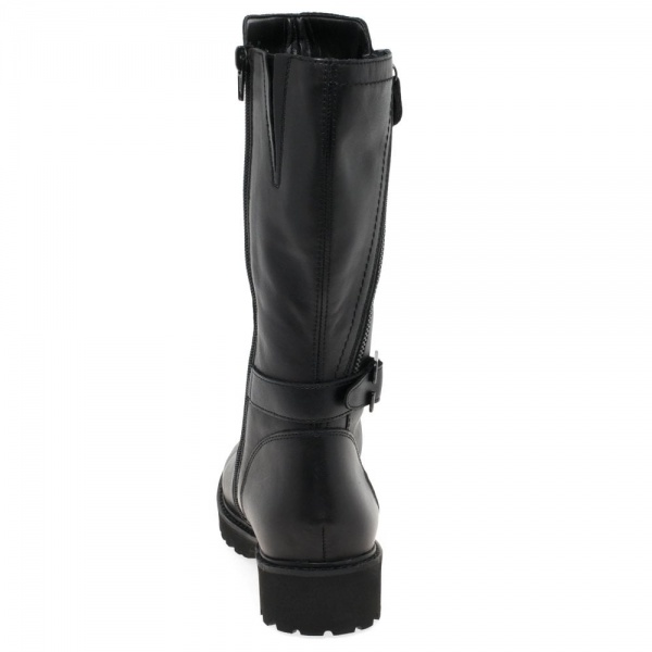 Remonte Boundary Womens Calf Length Boots Leather Wide fit