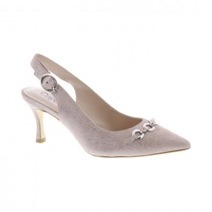 Capollini Pink Dust Sling Back