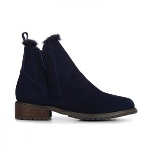 Emu Australia Pioneer Midnight Blue Ankle Boot