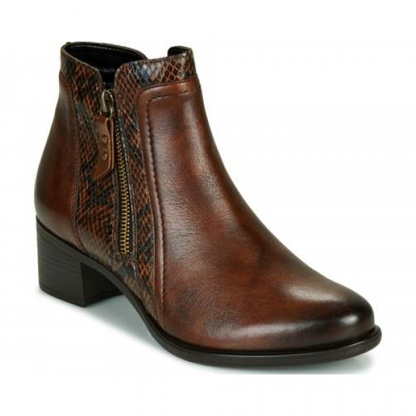 Remonte R5172-25 Women's Low Ankle Boots Brown Leather