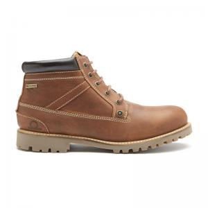 Chatham Grampian – Dark Tan Waterproof Ankle Boots