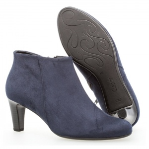 Gabor Fatale Soft Leather Ankle Boot in River