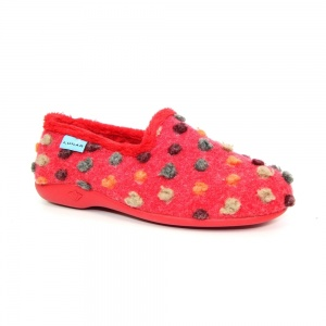 Lunar Helix Polka Dot Slipper