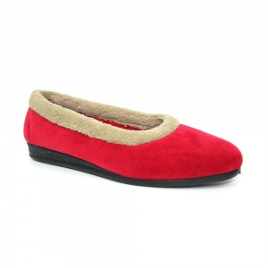 Lunar Mabel Fleece Pump Slipper