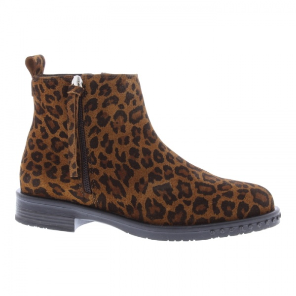 Adesso Mya Leopard Print Ankle Boot