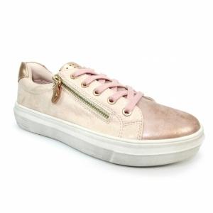 Lunar Dahl Pink Lace Trainer