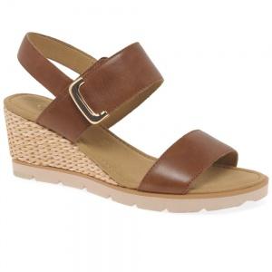 Gabor Porter Womens Wedge Heel Sandals
