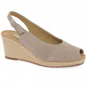 GABOR Tandy Womens Wedge Heel Espadrille Sandals