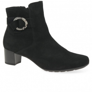 GABOR  Hemp Women's Black Ankle Boot
