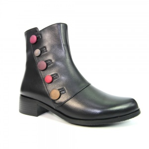 Lunar Rumba Button Ankle Boot